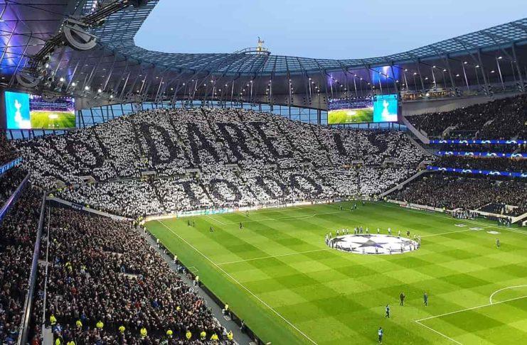 Matt Doherty Tottenham Hotspur Stadium Spurs