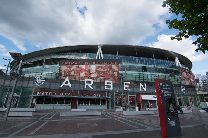 Borna Barisic Arsenal Emirates Stadium